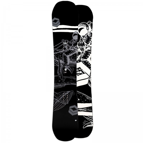 FTWO HERREN FREESTYLE SNOWBOARD BLACKDECK 2021 CAMBER