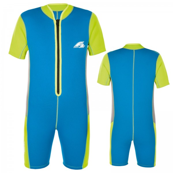 F2 KIDS NEOPRENANZUG ~ KITE WAKE NEOPREN SHORTY FÜR KINDER