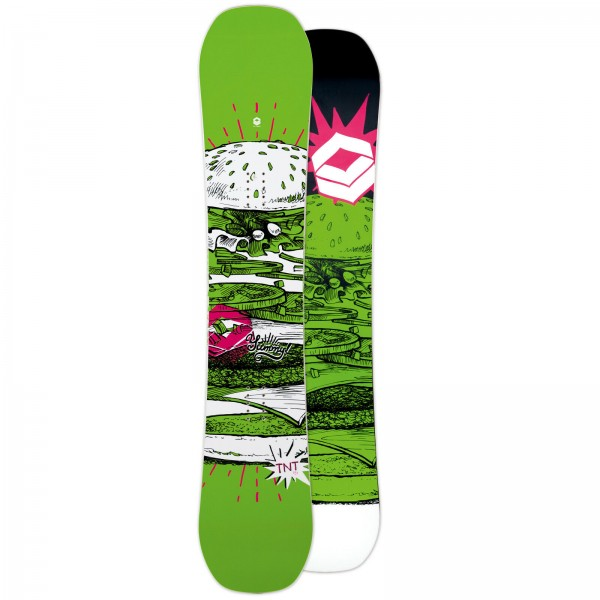 FTWO HERREN FREESTYLE SNOWBOARD TNT GREEN 2019 ~ WING ROCKER
