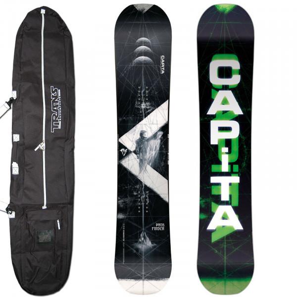 Capita Path Finder + BAG ~ Herren Freestyle Snowboard