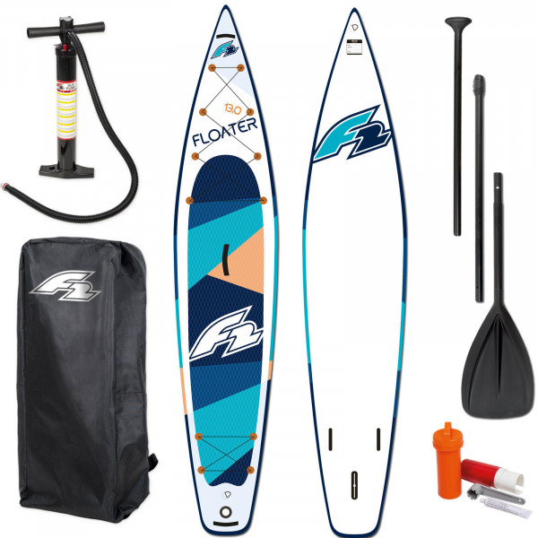 F2 SUP Floater 13,0' - Blue ~ Testboard