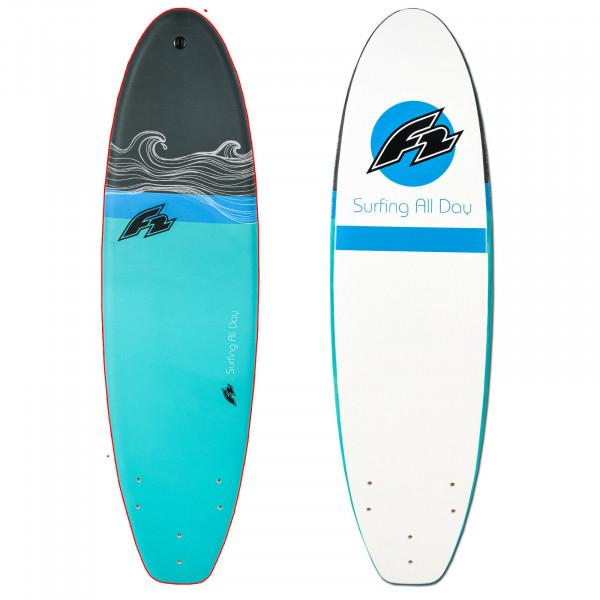 "F2 EPOXY SOFTBOARD 6'6"" 2021 ~ WELLENREITER SURFBOARD"
