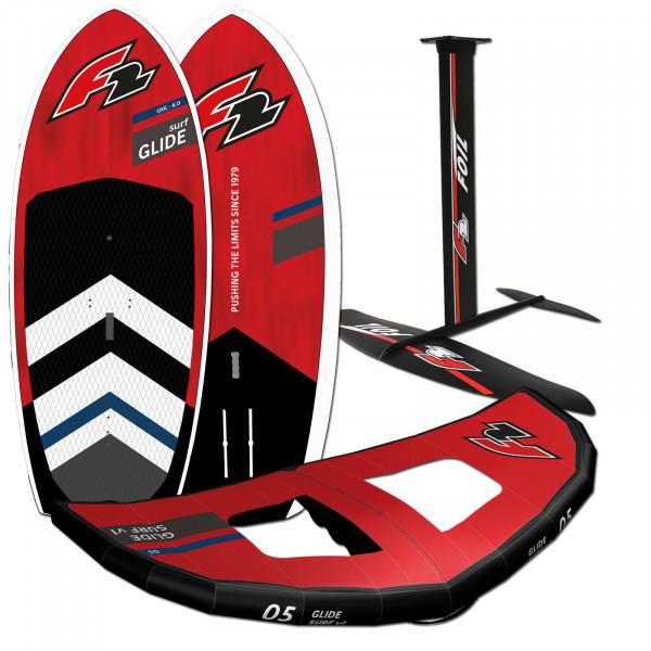 F2 Glide Surf Hardboard + F2 Foil Set + F2 Glide Surf Wing