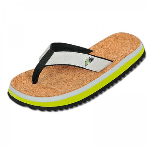 2019 F2 BEACHSLIPPER KORK BADESANDALEN ~ GREEN