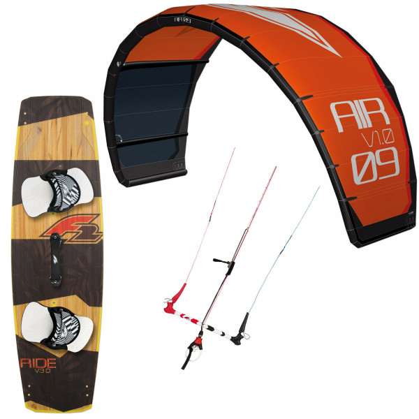 F2 AIR 2020 ORANGE ~ 9 QM + F2 RIDE V3 136x40