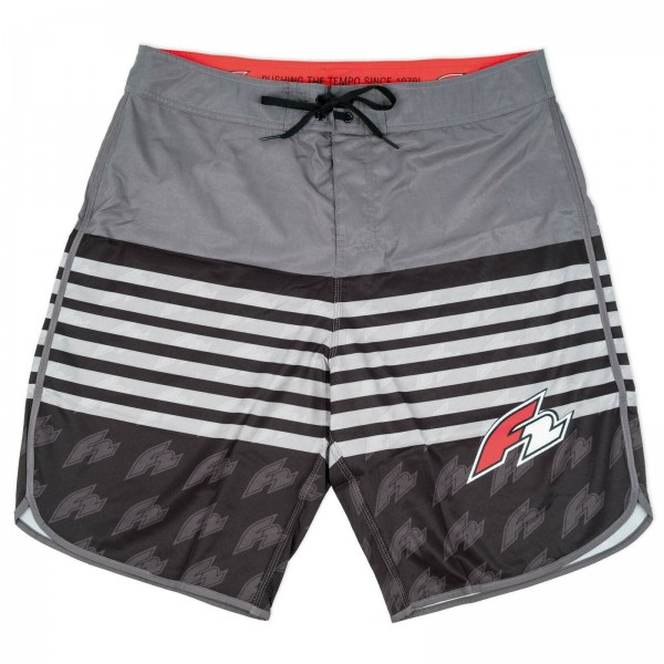 F2 PALM LEAVES SHORT ~ BADEHOSE HOSE WASSERSPORT BEACHHOSE BADESHORT