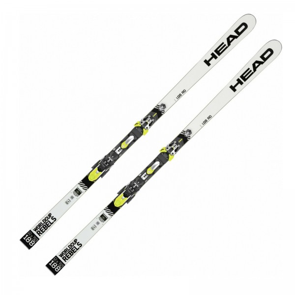 HEAD DAMEN SKI WC WORLD CUP REBELS I.GS RD 188 CM INKLUSIVE SP 12 ABS BINDUNG