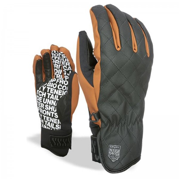 LEVEL SUBURBAN PK BROWN 2019 ~ HERREN SKI & SNOWBOARD FINGER HANDSCHUHE
